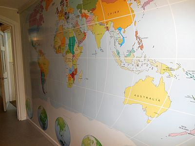 World Map Wallchart