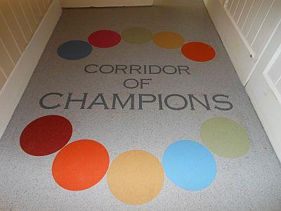 Corridor of champions